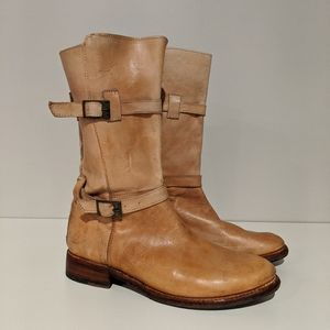 Bed Stu leather moto boots size 8
